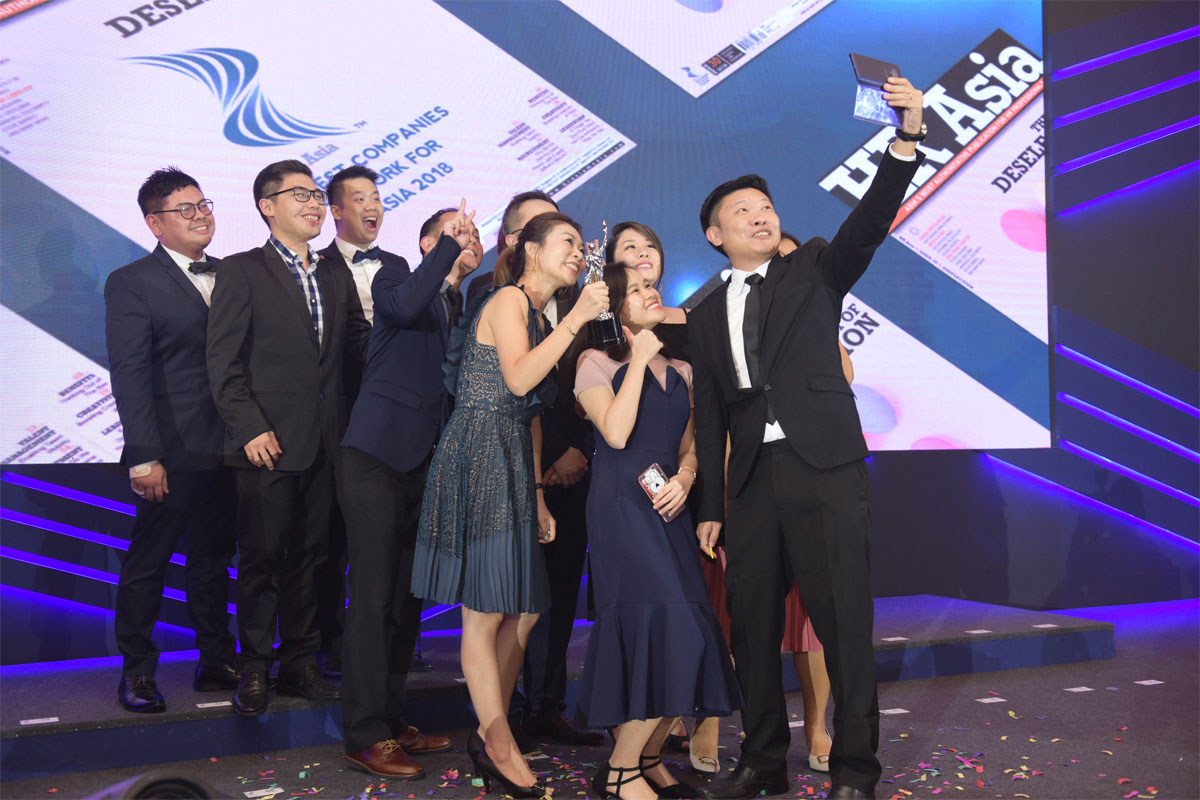 Titansoft, Best Company to Work for in Asia – Singapore 2018!